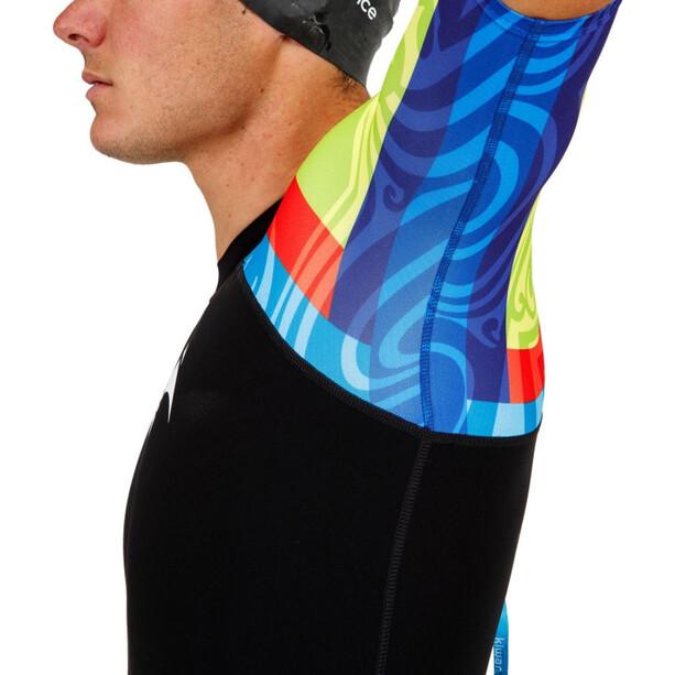 KiWAMi Aqua Rush Speedsuit black/rainbow