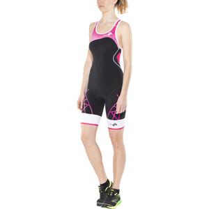 KiWAMi Spider Openback Trisuit Damen black/pink/white black/pink/white