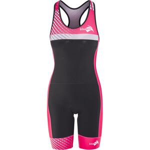 KiWAMi Prima Openback Anzug Damen schwarz/pink schwarz/pink