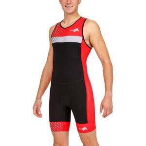 KiWAMi Prima Race 2 Anzug Herren black/red black/red
