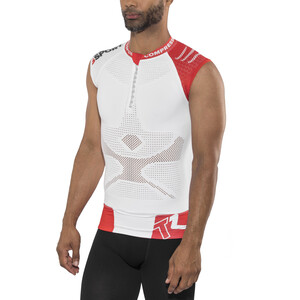 Compressport Trail Running V2 Tank Herre white white