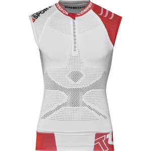 Compressport Trail Running V2 Tank Top Herren white white