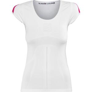 Compressport Trail Running V2 Kurzarmshirt Damen white white