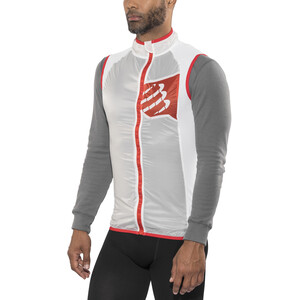 Compressport Trail Hurricane Weste Herren white white
