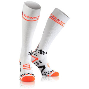 Compressport Full Socks V2.1 white white