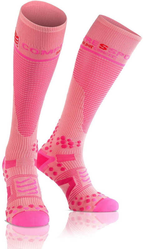 Compressport Full Socks V2.1 pink Laufsocken 3M EU 42-44/30-38cm 24004021