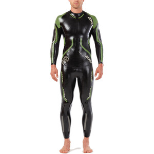 2XU Propel Pro Wetsuit Men black/neon green gecko black/neon green gecko