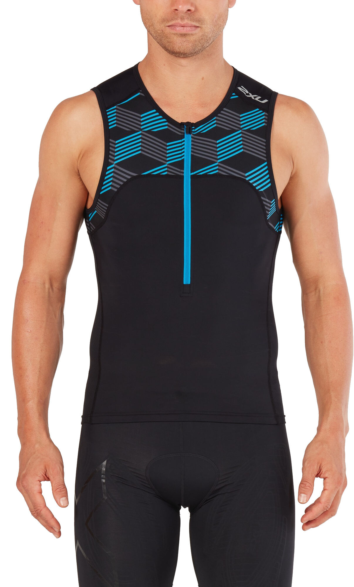 2XU Mens Active Multi-Sport Singlet