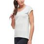 Black Diamond Mobility T-shirt Femme, gris/blanc