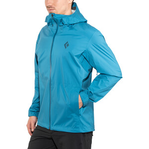 Black Diamond Stormline Stretch Regen Shell Jacke Herren kingfisher kingfisher