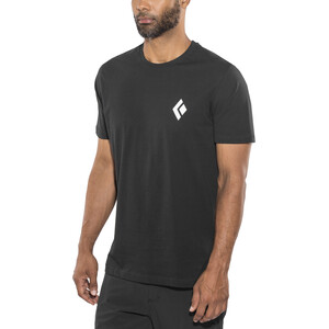 Black Diamond Equipment for Alpinist Kurzarm T-Shirt Herren black black