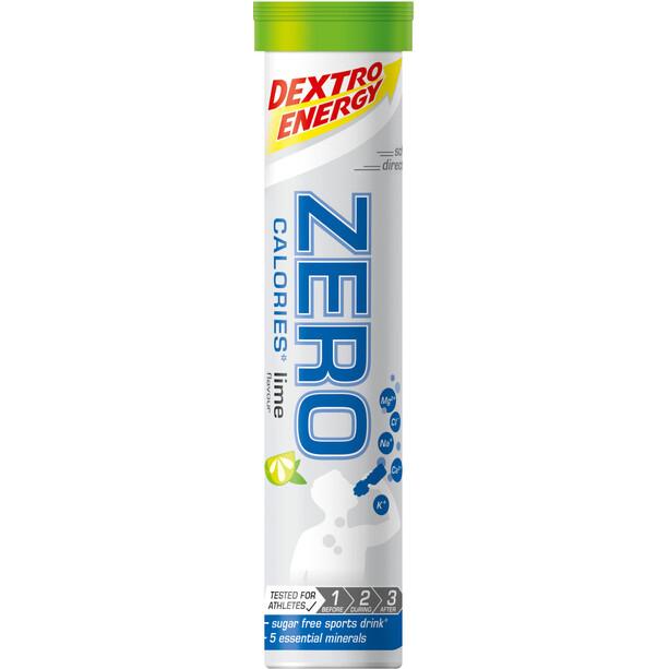 Dextro Energy Zero Calories Electrolyt Tabs 20 x 4g Limette