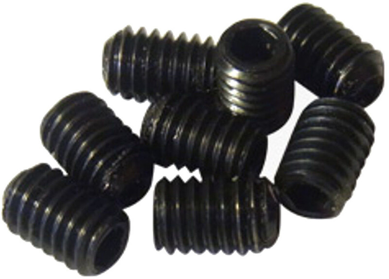 Pedal Pins Inner Edelstahl Set 8 Stück M4x6mm schwarz 2018 Pedalplatten & Zubehör
