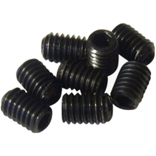 NC-17 Pedal Pins Inner Set 8 Stück M4x6mm schwarz