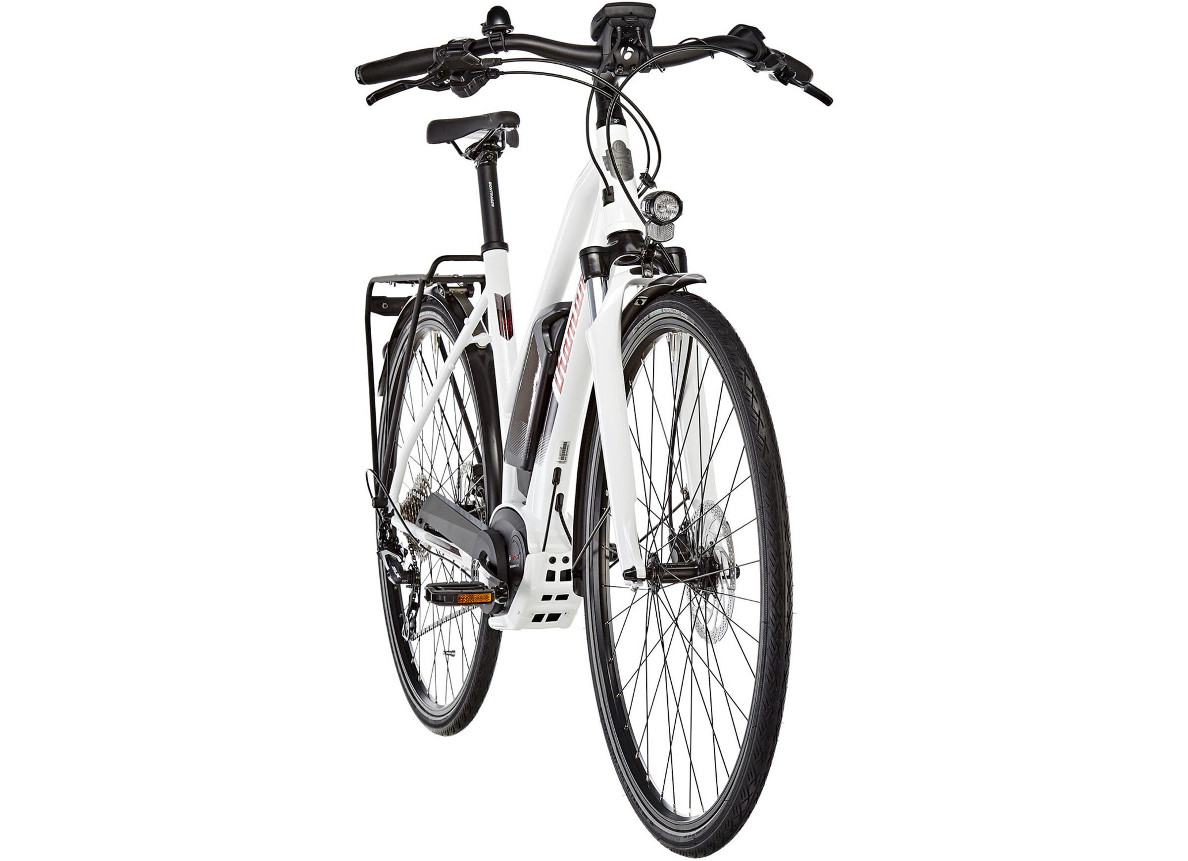 diamant elan g e trekking bike trapez white at. Black Bedroom Furniture Sets. Home Design Ideas