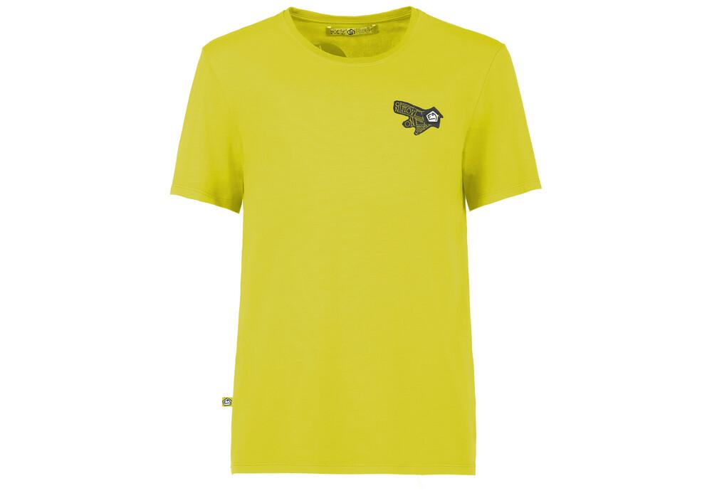 e9 onemove t shirt manches courtes homme jaune sur. Black Bedroom Furniture Sets. Home Design Ideas