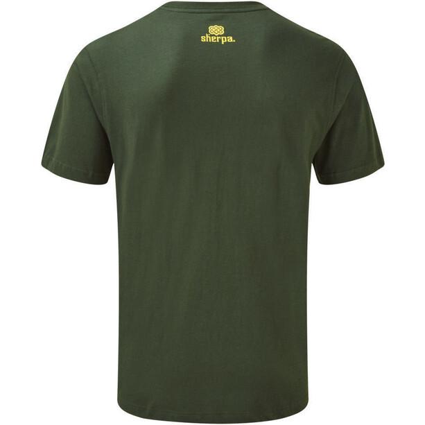 Sherpa Tarcho T-Shirt Herren mewa green