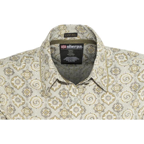 Sherpa Chakra T-shirt à manches longues Femme, gris