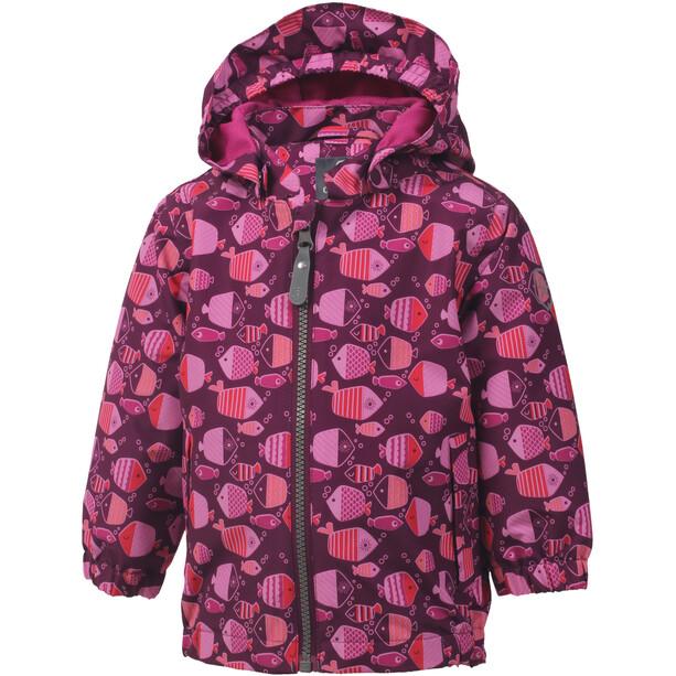 Color Kids Torke AOP Mini Jacke Mädchen magenta purple