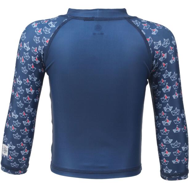 Color Kids Nammy UPF Sweat-shirt Mini Manches longues Enfant, estate blue