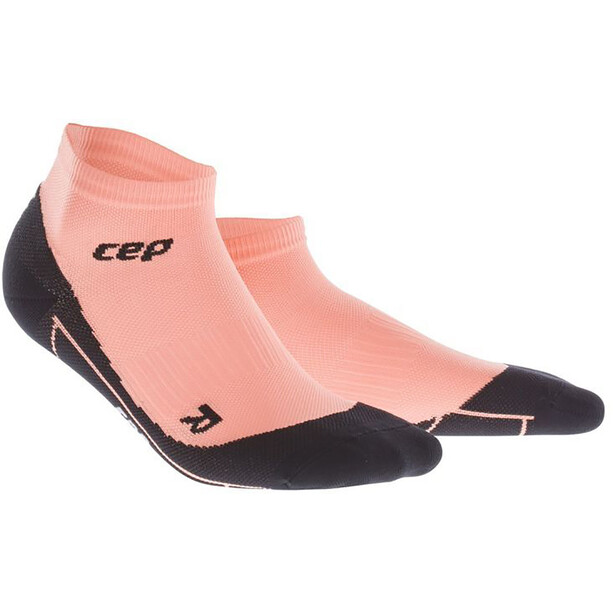 cep Low-Cut Kompressionssocken Damen crunch coral