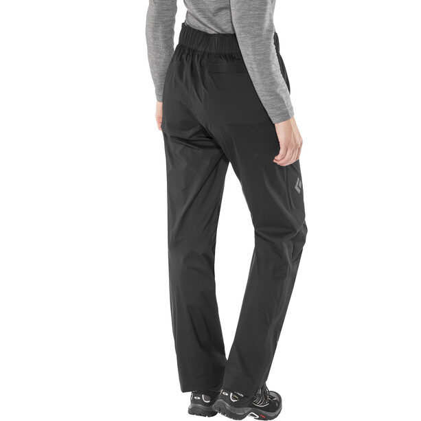 Black Diamond Stormline Stretch Rain Pants Dam black