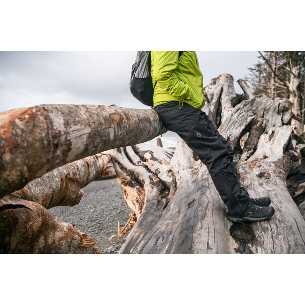 Black Diamond Stormline Stretch Rain Pants Herr black