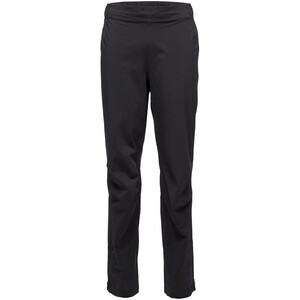 Black Diamond Stormline Stretch Rain Pants Herr black black