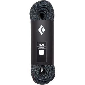 Black Diamond 6.0 Static Rope 65m black black