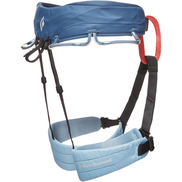Black Diamond Momentum Harness Dam stone blue