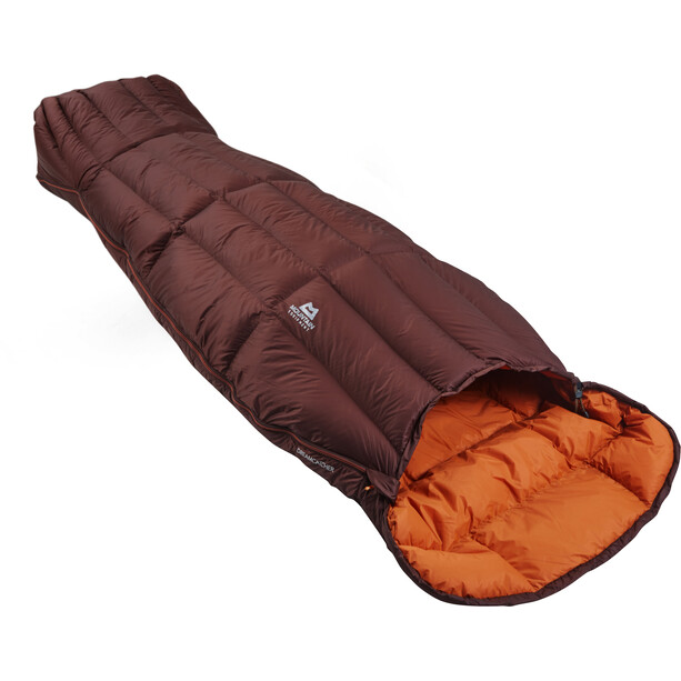 Mountain Equipment Dreamcatcher Sleeping Bag Dam dark chocolate/blaze