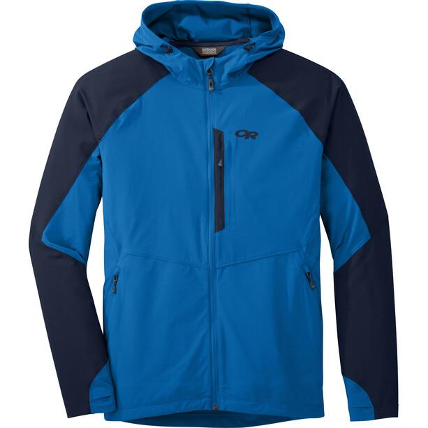 Outdoor Research Ferrosi Hooded Jacket Herr glacier/night