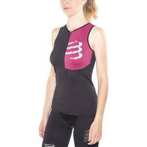 Compressport Triathlon Postural Ultra Tanktop Damer, black black