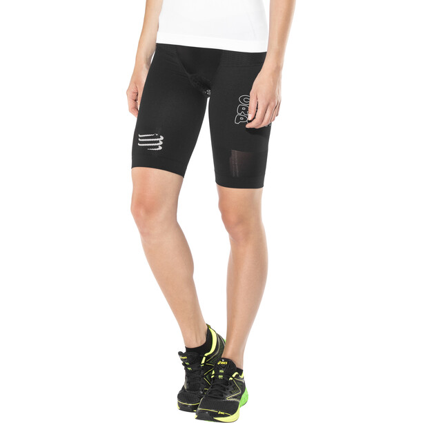 Compressport Triathlon Under Control Shorts Damen black
