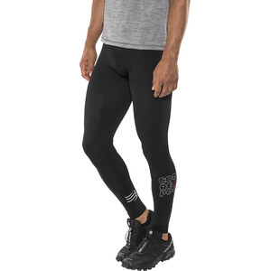 Compressport Running Under Control Täyspitkät Leggingsit, black black
