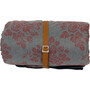 Grüezi-Bag WellhealthBlanket Wool Deluxe Schlafsack grey melange/berry