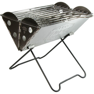 UCO Mini Flatpack Grill & Firepit grå/silver grå/silver
