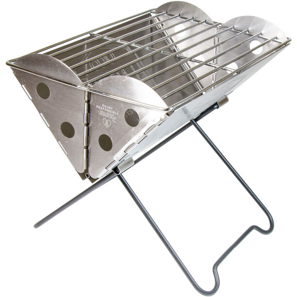 UCO Mini Flatpack Grill & Firepit steel