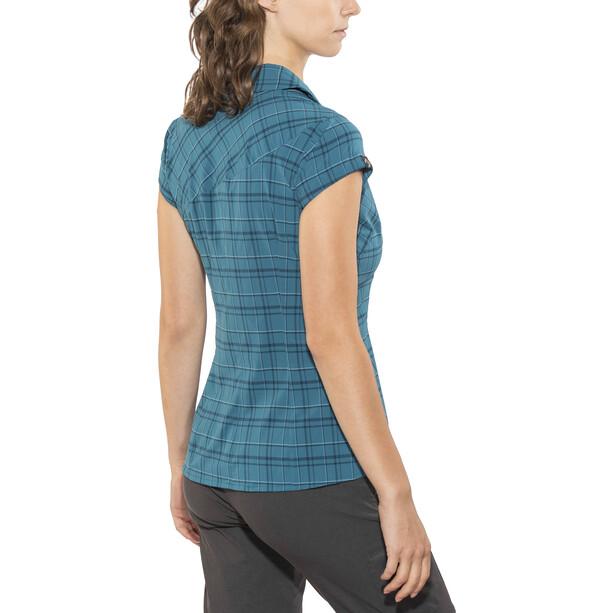 Directalpine Sandy 1.0 Flanell Kurzarmhemd Damen petrol