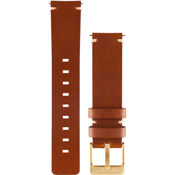Garmin Vivomove Lederarmband bright brown