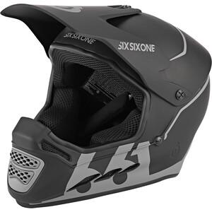 SixSixOne Reset Full Face Helmet midnight black midnight black