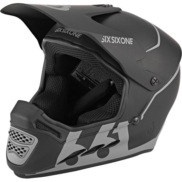 SixSixOne Reset Full Face Helmet midnight black