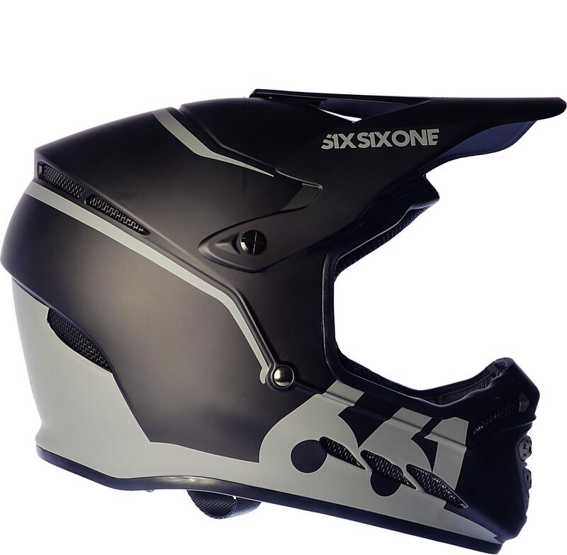SixSixOne Reset Fullface Helm midnight black XXS | 49-51cm 2018 Fahrradhelme