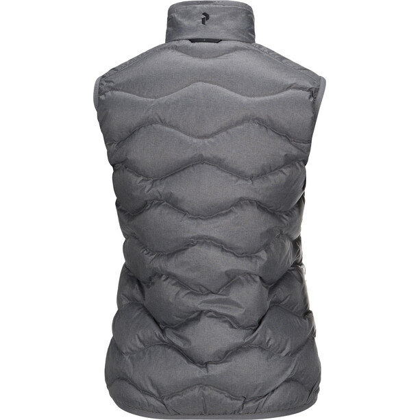 Peak Performance Helium Vest Dam grey melange