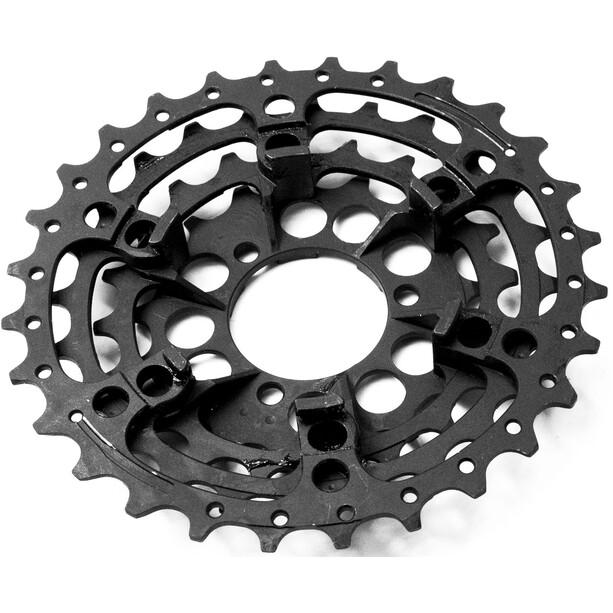 e*thirteen Steel Sprockets TRS+ -rataspakkaan 10/11 -vaihteinen, musta