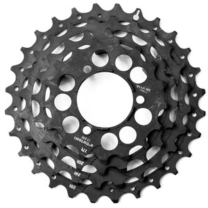 e*thirteen Steel Sprockets for TRS+ cassette 10/11-speed ブラック