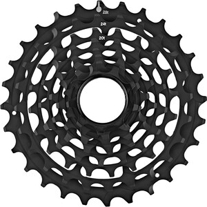 e*thirteen Steel Sprockets for TRS Race cassette 10/11-speed ブラック