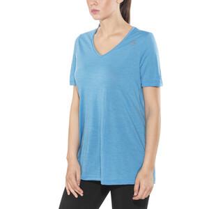 Aclima LightWool Loose Fit T-paita Naiset, sininen sininen