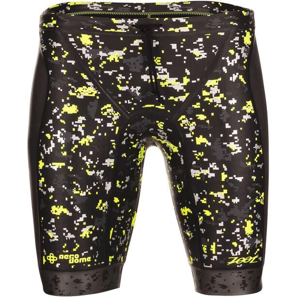 Zoot Wave Buoyancy Shorts Herren black/high-viz-yellow