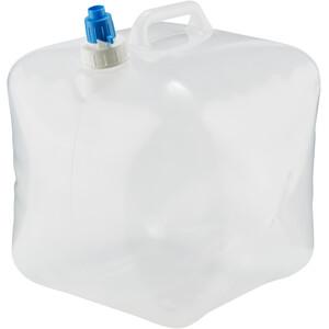 CAMPZ Wasserkanister faltbar 15l transparent transparent